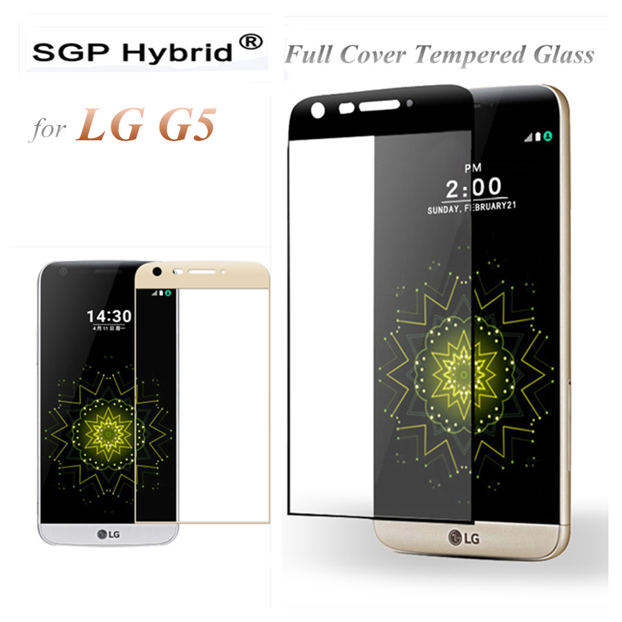 For LG G5 Tempered Glass Screen Protector 3D Curved Full Cover Premium Protectiv