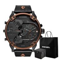 Diesel watch Men's watch 2018 new watch brand leisure quartz clock DZ7400