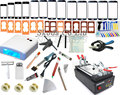 110/220V for iPhone 6 Mobilephone Touch Glass Screen Repair Kit LCD Separator Machine +Mould+UV Loca Glue+ Cutting Wire+UV lamp