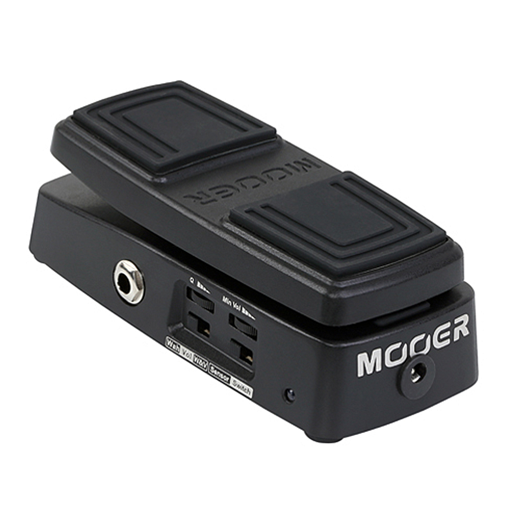 MOOER Free Step Mooth Seamless Volume Control Guitar Effect  Vintage Analogue  Wah and Volume Pedal mooer leveline volume pedal electric guitar bass effect pedal wvp1 with free connector and footswitch topper