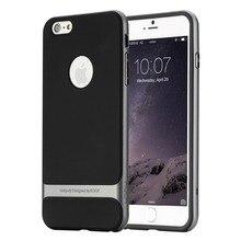 ROCK Royce TPU + PC Case สำหรับ iPhone 7 plus กรณีกรอบกรณีพีซีกลับหรูหราสำหรับ iPhone 7 plus 7 plus