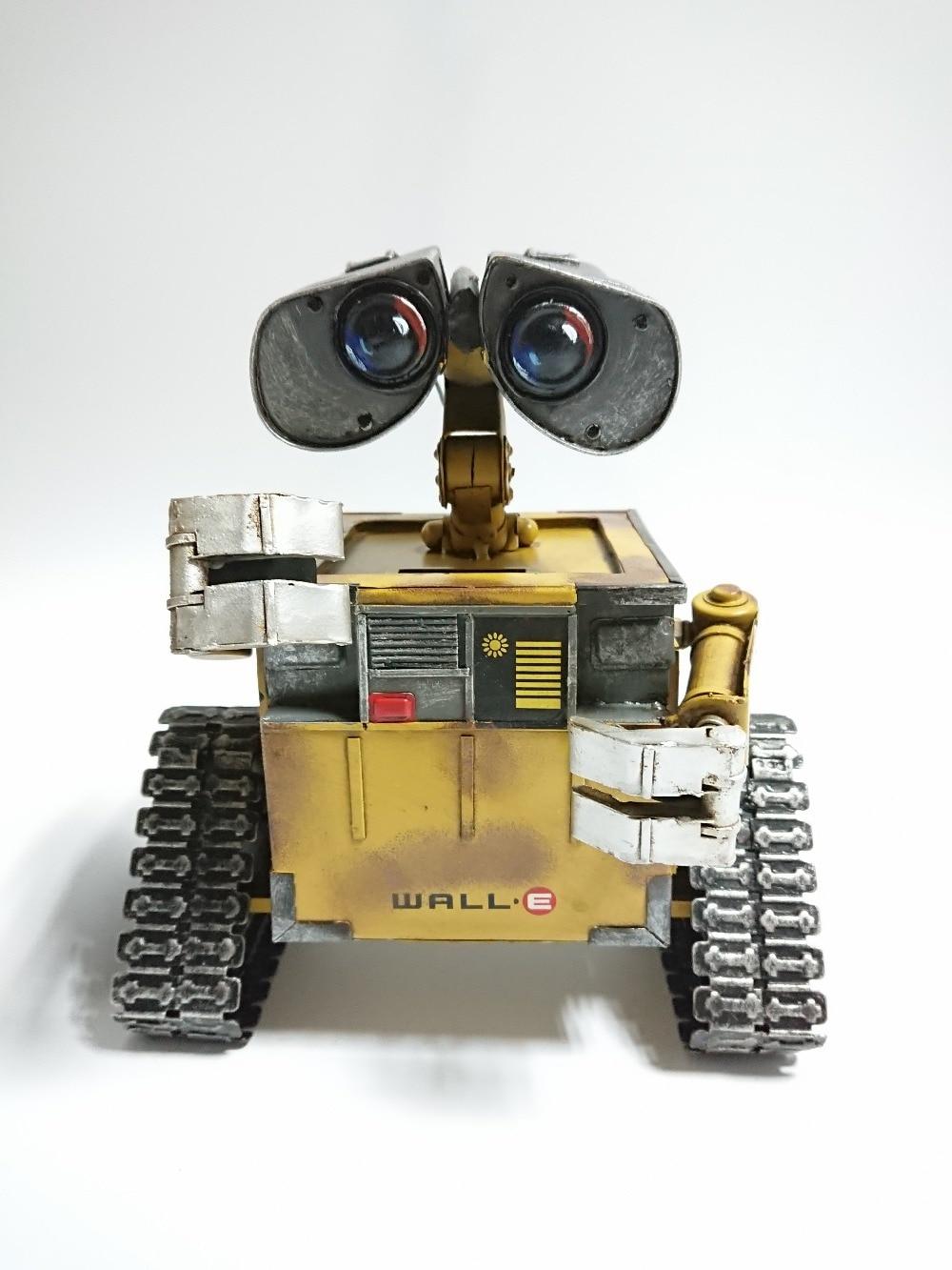 Metal Pig Bank Walle WALL-E WALL E 100% Handmade Steel Iron Sheet Model Action Figure