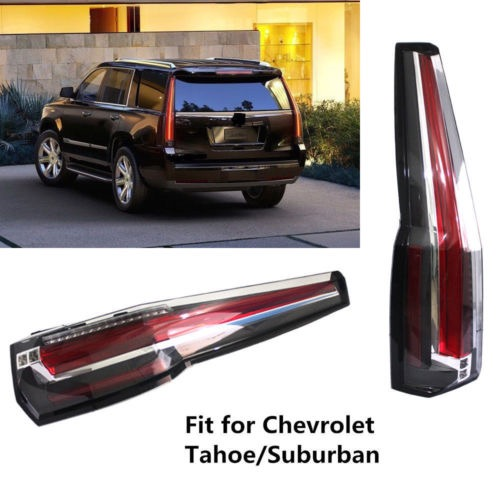Taillights Rear Lamp Escalade Style For Chevrolet Suburban Tahoe 2017 Tail Lights Brake Light New In Car Headlight Bulbs Led From