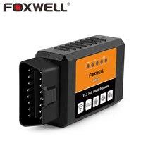 F OXWELL FW601สากลOBD2 WIFI ELM327 V 1.5