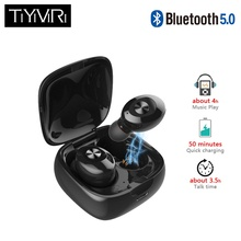 Wireless Bluetooth Earphones 5.0 True Earbuds binaural Option Multi-smart Sport for iphone huawei xiaomi smartphone