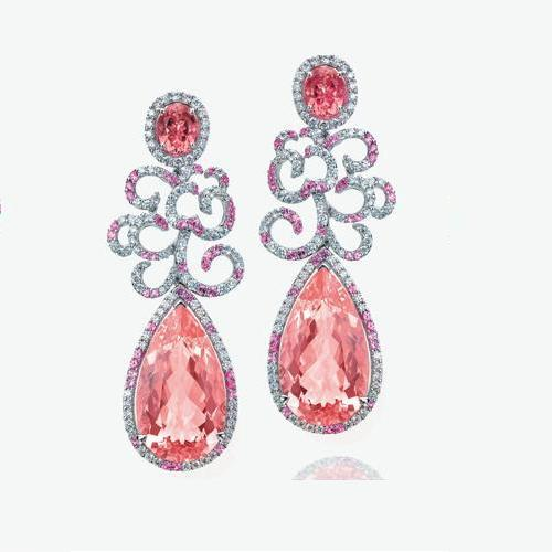 купить 2017 Hot Sale Brincos Qi Xuan_Fashion Jewelry_Luxury Big Waterdrop Party Earrings_Solid Silver Earrings_Factory Directly Sale онлайн