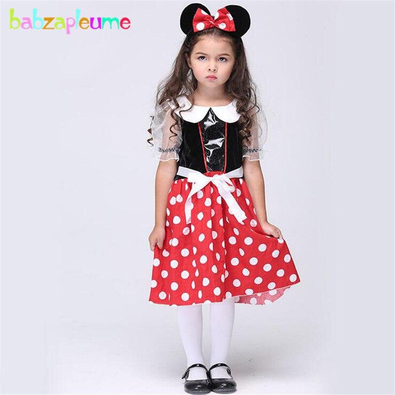 12cc66e87 babzapleume Brand Girls Dance Dress Halloween Cosplay Cartoon Mouse ...