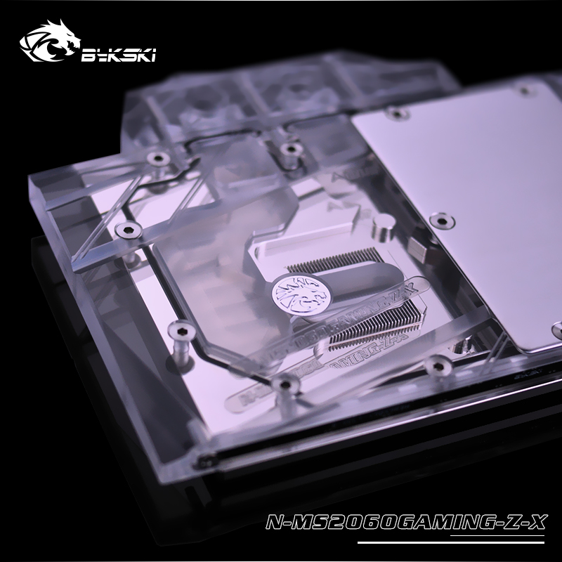 MSI GeForce RTX 2060 Gaming Z 6G, 6GB GDDR6 water block (10)