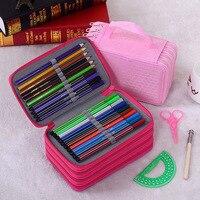 Pencil Case School Supplies Lapices Box Estojo Escolar Etui Pen Utiles Escolares Pouch Papelaria Criativa Okul