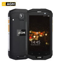 AGM A8 5 Inch Shockproof Phone 4GB RAM 64GB ROM IP68 Smartphone Quad Core Android 7.1 13.0MP 4050mAh 4G Mobile Cellphone NFC OTG