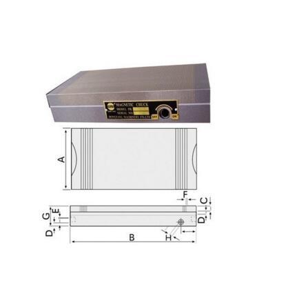 Sine precision grinder with magnetic chuck plane breakdown grinder disk XM91-100x175mm цена