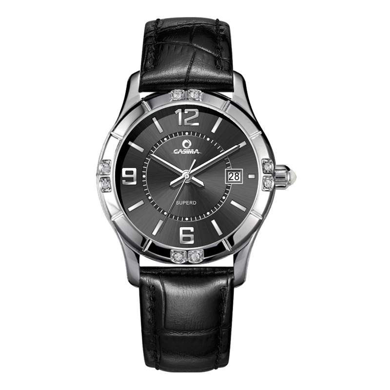 Luxury brand watches women fashion casual beauty fancy womens quartz wrist watch waterproof 50m Leather strap