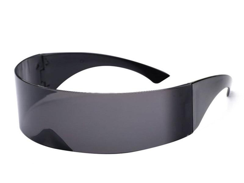 Funny Futuristic Wrap Costume Sunglasses