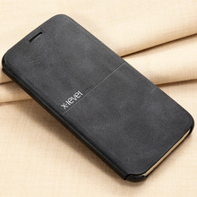 X-уровень ультра тонкий флип чехол для Samsung Galaxy S7 S7 край Полный Защитная крышка телефон из искусственной кожи S7 Чехлы