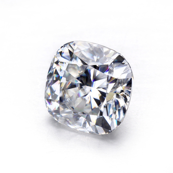 Moissanit diamond stone EF white color 5*5mm crushed ice cushion cut moissanites loose gems stones for jewelry making