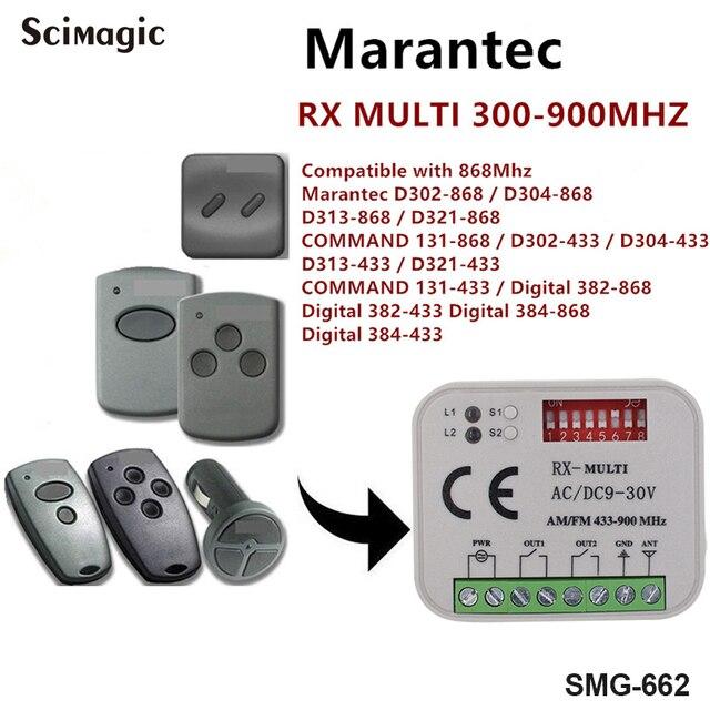 Гаражный приемник для Marantec 433,92 МГц и 868,мгц, дистанционный гаражный приемник, приемник Marantec для ворот
