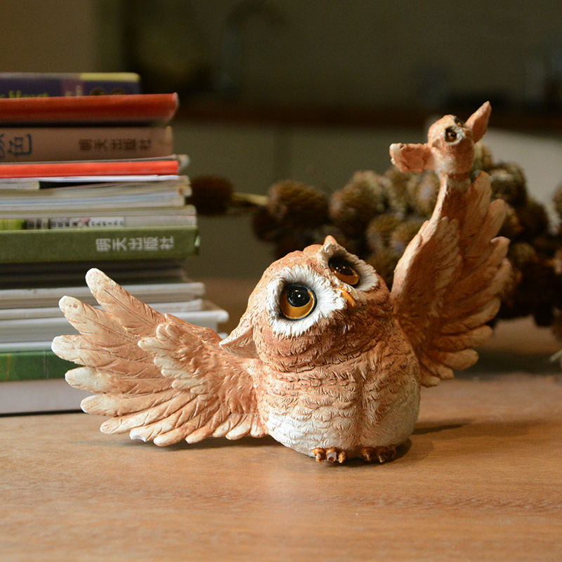 On a regular basis Assortment Owl Animal Figurine Trendy Crafts Dwelling Ornament Equipment Miniature Backyard Tabletop Cabinets Decoration