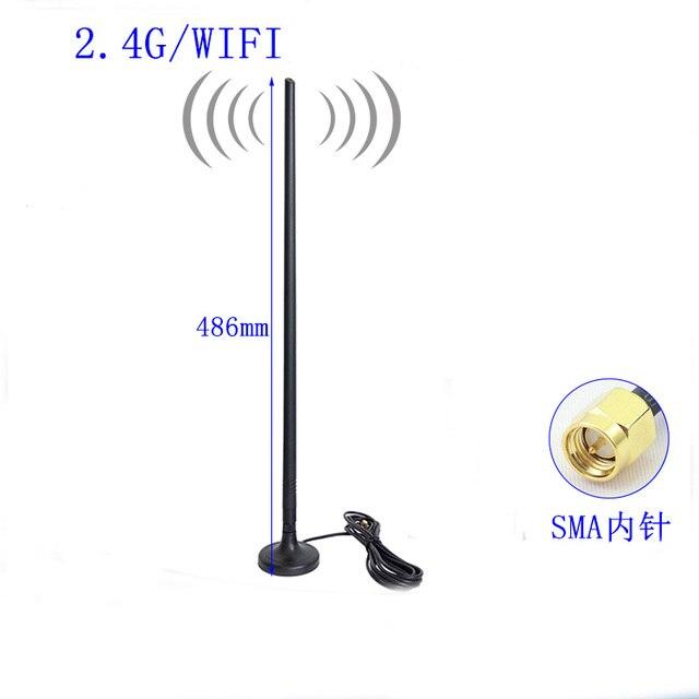 Wifi פרייר אנטנת 2.4G אלחוטי נתב אנטנת 15 DBI omnidirectional רשת כרטיס אנטנה גבוהה רווח יותר יציב