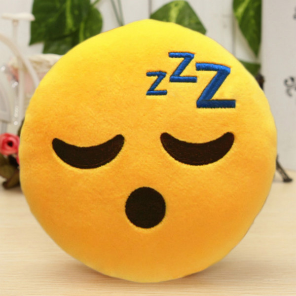 6 Inch Lovely Emoji Smiley Emoticon Pillows Soft Stuffed Plush Cute Cartoon Toy Doll 12 Styles Christmas Gift 2016 fashion new