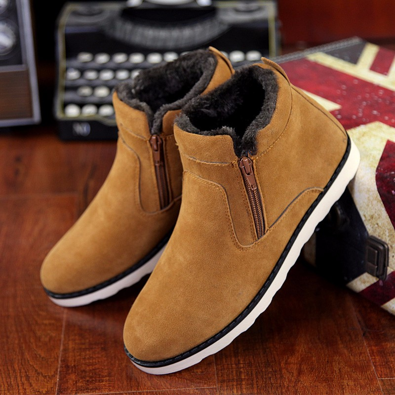Suede ankle boots zip women shoes cheap snow boots big size 6-15 solid rubber boots warm shoe black/brown/blue booties монитор 24 benq bl2423pt ips led 1920x1080 6ms vga dvi displayport