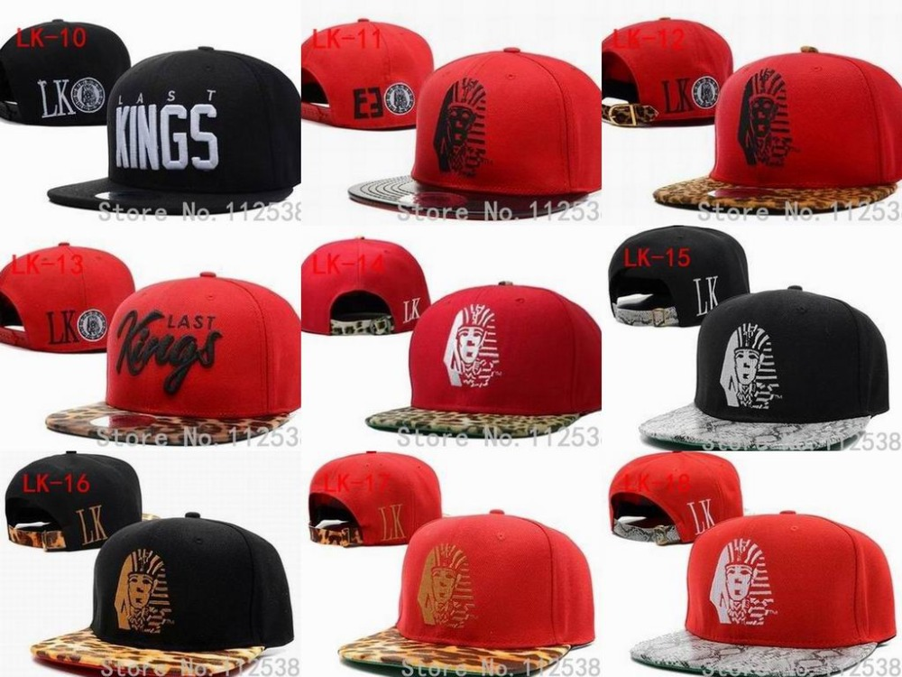 8e767f44a26 ... 50% off last kings snapback 2014 red blue snapback hats tyga adjustable  leopard print snakeskin
