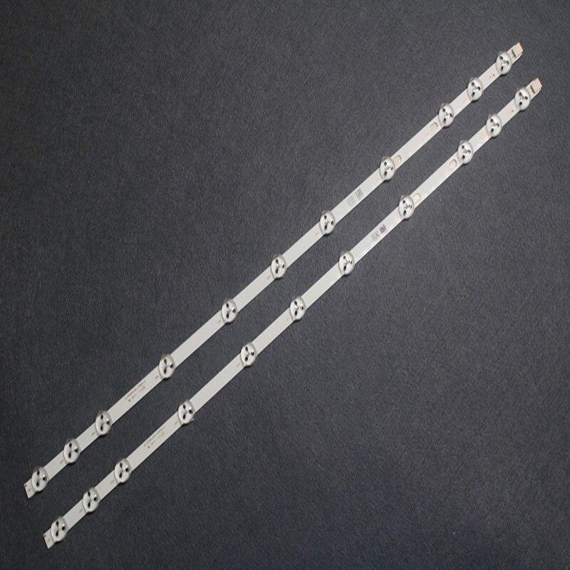 2pcs/set 11 LEDs 575mm New Original LED Strip Replacement VESTEL 32D1334DB VES315WNDL-01 VES315WNDS-2D-R02 VES315WNDA-01