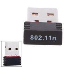 Ralink RT5370 150Mbps Mini Wireless LAN Adapter USB 2.0 Wifi Networking Network Card 802.11 b/g/n 2.4GHz Hi-Speed