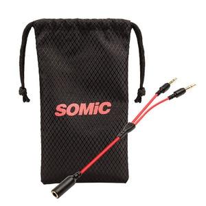 Image 4 - Somic G618 في الأذن الألعاب سماعات مع ميكروفون للكمبيوتر المحمول 3.5 مللي متر سماعة رأس سلكية للهاتف المحمول الوسادة