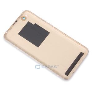 Image 3 - Original For Xiaomi Redmi 5A Back Battery Housing Cover Redmi 5A Rear Cover + Camera Glass + Side Keys Button Repair Spare Parts