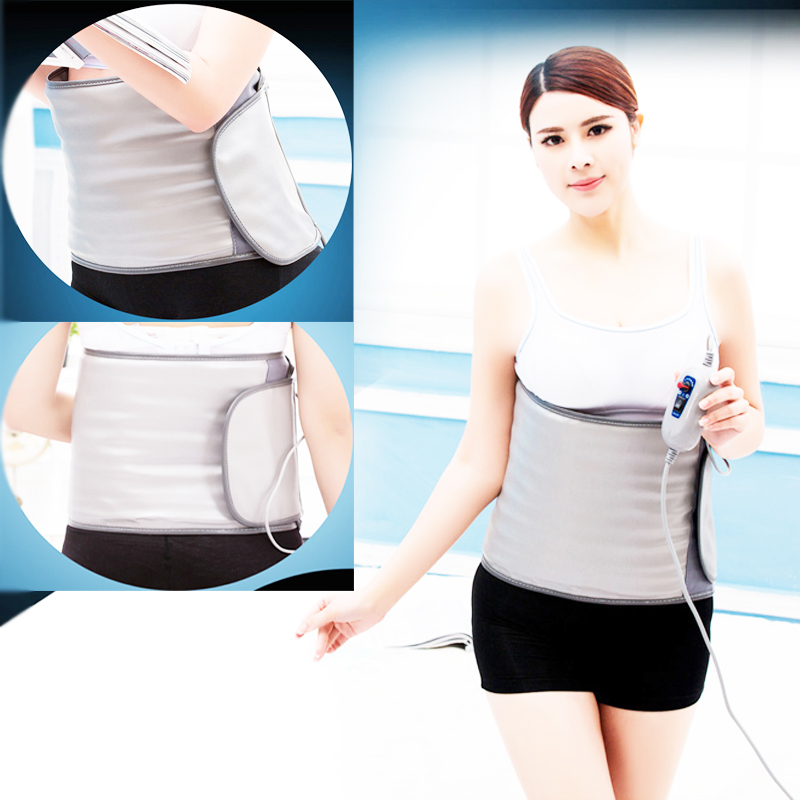NEW Far infrared Waist Trimmer Exercise Belly Belt Slimming Burn Fat Sauna Weight Loss fat shaping burning abdomen reduce belly elastic thin slimming belt magic waist abdomen massage belt black