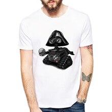 ФОТО new fashion cute darthworks design men t-shirt short sleeve hipster star wars tops the darth king printed t shirts cool tee
