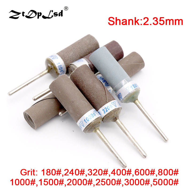ZtDpLsd 1Pcs Paper Tool Sanding Belt Sandpaper Grinding Polishing Bands Wheel Electric Drill Accessories With Mandrel Wheel Sand