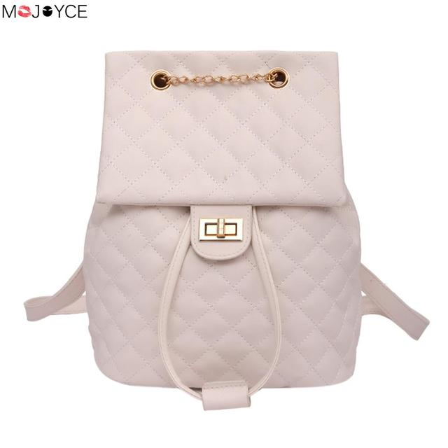 ad4e1252d5b5 Fashion Women High Quality Leather Casual Multi-Purpuse Backpack for Teenage  Girls Female School Shoulder