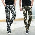 Новое поступление 2016 весна / осень в стиле милитари прямые брюки мужчин мужчин тонкий форме комбинезоны pantalon мужская одежда XXK14