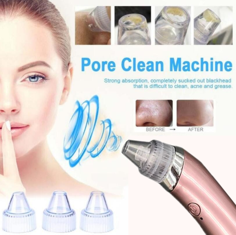 Electric Acne Remover Point Noir Blackhead Vacuum Extractor Tool Black Spots Pore Cleaner Massager Face Beauty Skin Care Tool