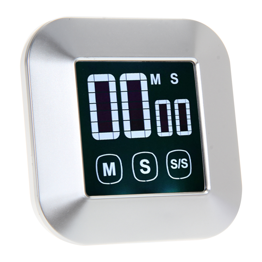 Kitchen Timer 0-99 Minutes Touch Screen LCD Backlight Digital Timer Alarm Clock Cooking Tools Kitchen Accessories