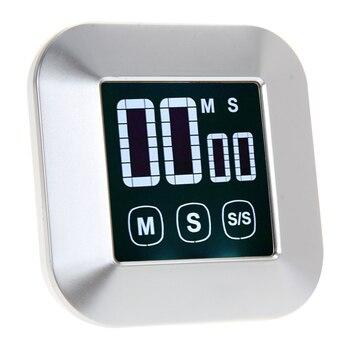 Kitchen Timer 0-99 Minutos da Tela de Toque LCD Digital Backlight Despertador Temporizador Cozinhar Ferramentas Acessórios de Cozinha