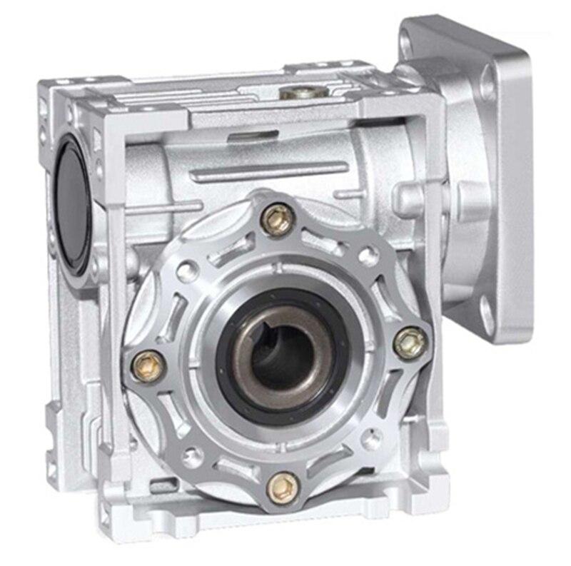 NMRV040 86 millimetri ingranaggio a vite senza fine riduttore rapporto di Riduzione 5:1-100:1 per NEMA34 motore passo-passo 14 millimetri albero