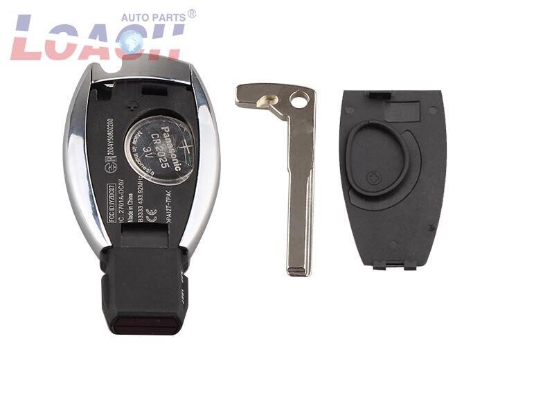 10psc/лот Smart Remote Key 2 кнопки 315/433 МГц BGA стиль с чипом для Mercedes Benz 2000 + - 3