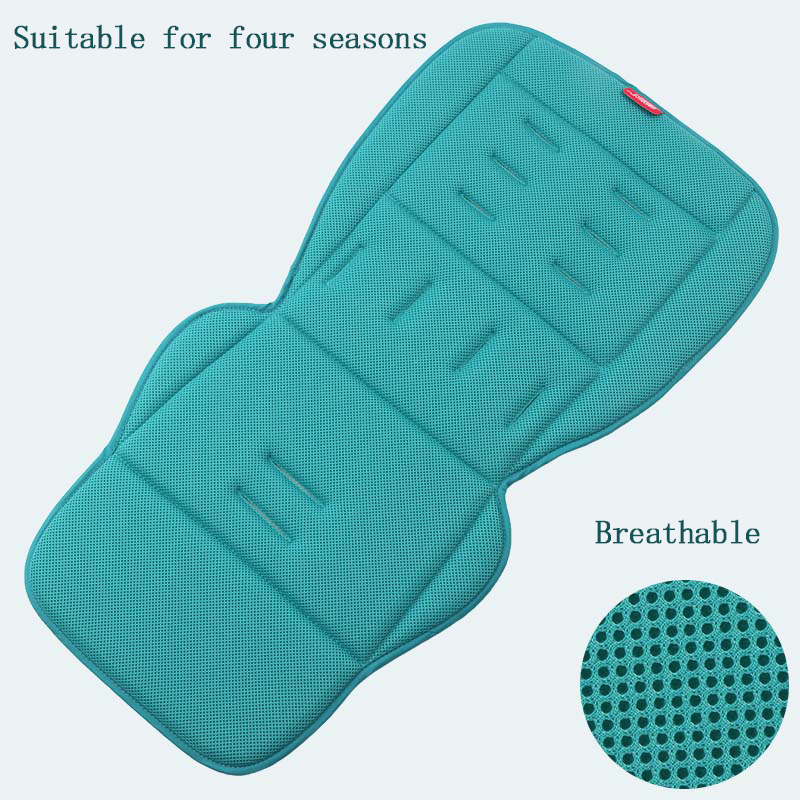 Image 2 - Universal Baby stroller seat cushion Breathable seat pad soft and comfortable pram liner for four seasons stroller accessories-in Strollers Accessories from Mother & Kids