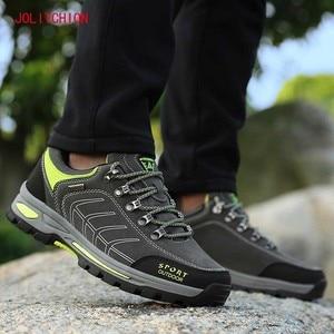 Image 4 - אביב סתיו גברים סניקרס נעליים יומיומיות באיכות גבוהה זמש גברים נעלי Zapatillas Hombre אופנה זכר מעצב Footwears בתוספת 45