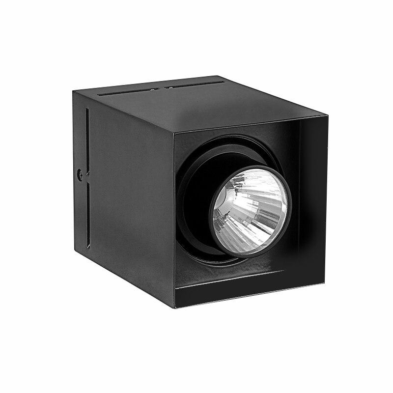 SCON square round type mounted LED spotlights villa 15W CREE COB natural light 2700K 3000K 4000K
