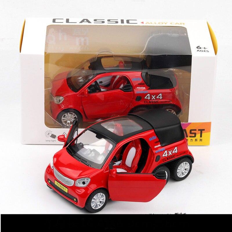 For Mercedes Benz Smart Car Model Pickup Alloy 4x4 Model