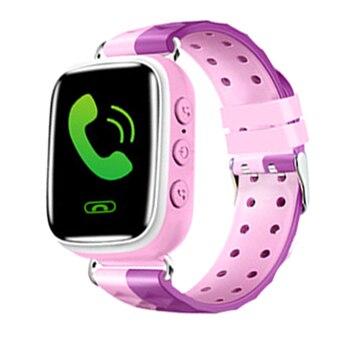 051314bd9 Q90 GPS niño reloj inteligente posición de teléfono niños reloj 1,22  pulgadas Color pantalla táctil WIFI SOS Smart Baby Watch Q50 q80 q60 reloj
