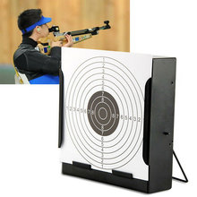 1 Pc New 14cm Card Funnel Target Holder Pellet High Quality Trap Targets For Air Rifle/Airsoft Shooting Paintball Accessory