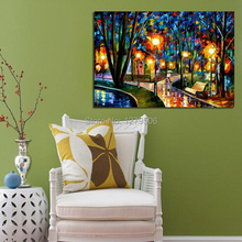 100%Handpainted Abstract Decorative Knife Oil Painting On Canvas Thick Wall Picture For Home Decor As Best Gift