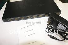 Envío de la Alta Calidad de 8 Puertos HDMI Splitter/Extensor Dispositivo Soporte 3D Con Ethernet 1080 P