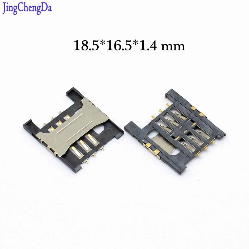 JCD SIM Kaartlezer slot lade Houder Connector voor Lenovo A568t A788 A788T A3000-H A5000 K860I A3000 A828T S868T socke