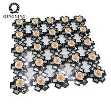 25 шт. 3 Вт Cree высокомощный светодиодный светильник светодиодный s чип с алюминиевой звездой PCB теплый белый холодный белый красный зеленый синий желтый