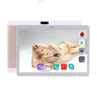 Бесплатная доставка Android 7,0 10 дюймов планшетный ПК Дека Core 4G B 4G LTE ребенка tablet 10,1 32 ГБ Встроенная память Wi Fi